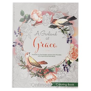 Colooring book 3:16, A garland of Grace