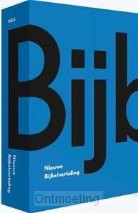 Bijbel nbv BLAUW MIDPRICE