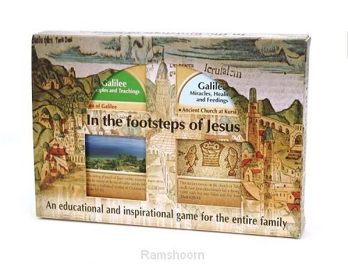 Kwartetspel in the footsteps of jesus