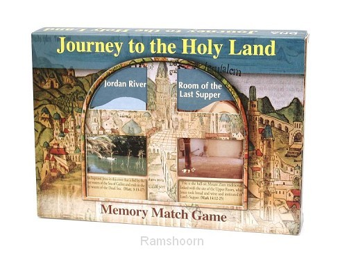 Spel memory journey to the holy land