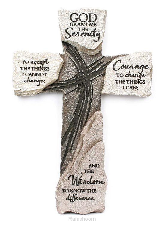 Kruis steen 25.5cm God grNU 60379925664