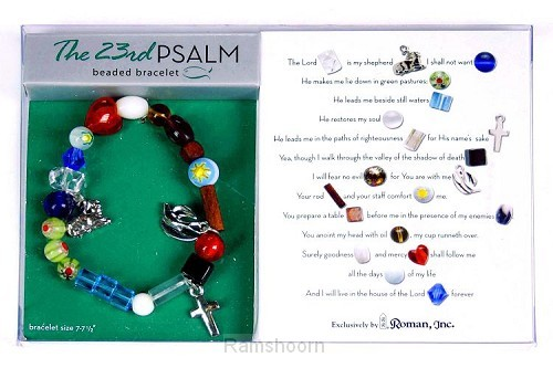 Armband 23rd psalm 17.5/19cm