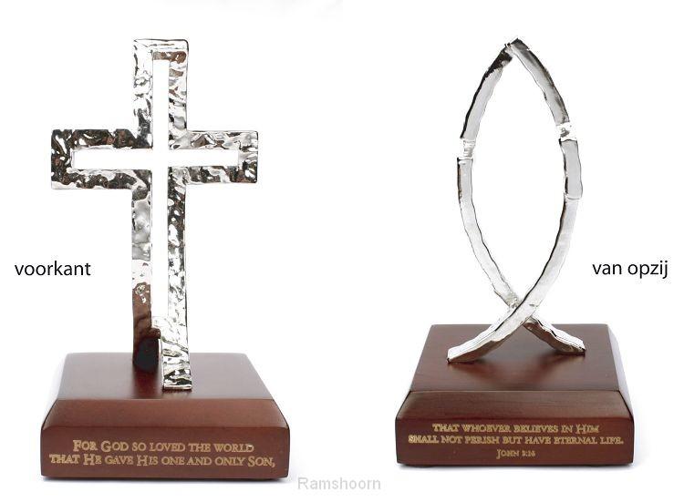 Standaard dimension of christ vis/kruis