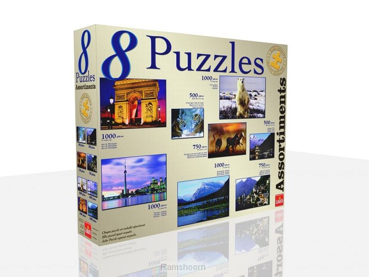 Puzzles 8 in 1