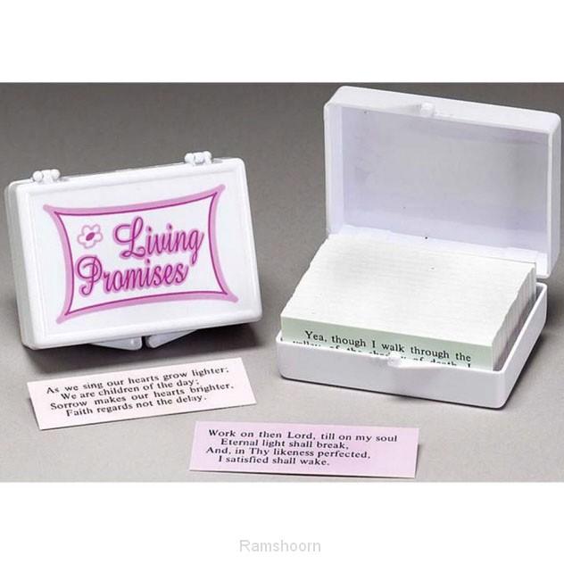 Promise box met engelse bijbelteksten