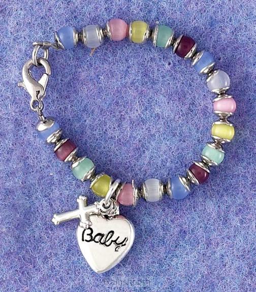 Baby blessings bracelet multi color