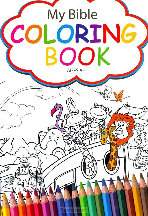 My bible coloringbook  5+