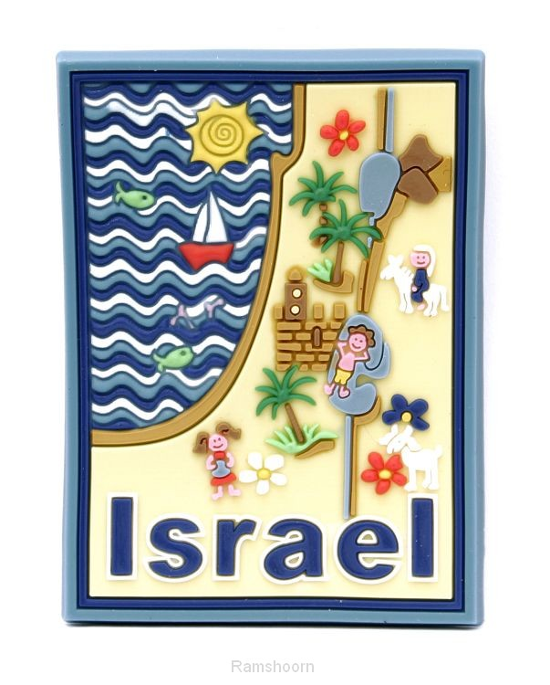Magneet rubber 3d israel