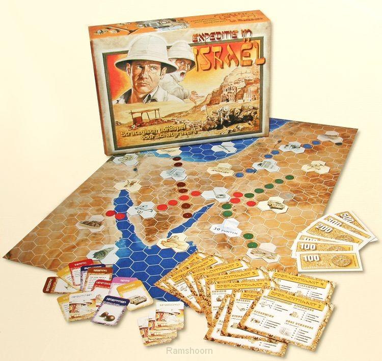 Spel expeditie in israel