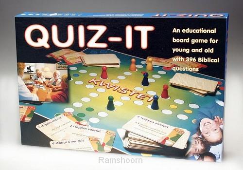 Spel quiz-it (engelse variant kwistet)