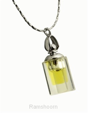 Hanger crystal kl fles anointing oil
