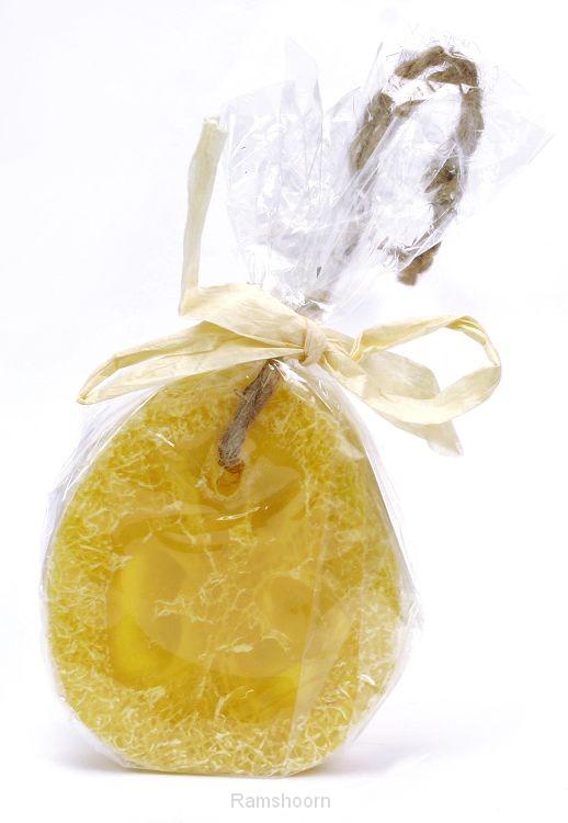 Zeep loofah citroen
