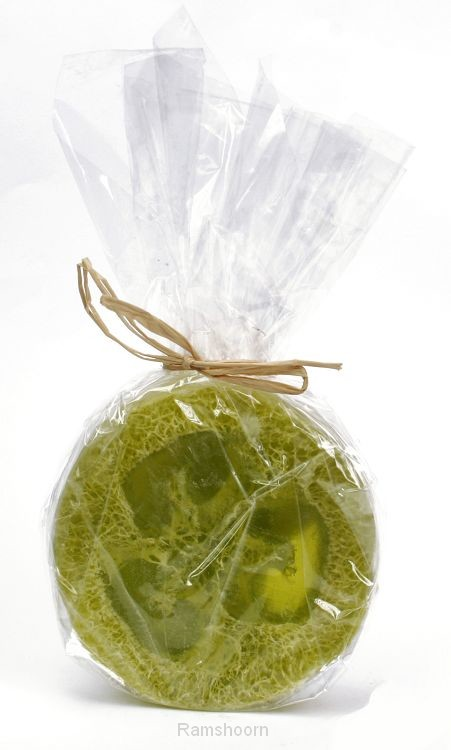 Zeep loofah groene thee