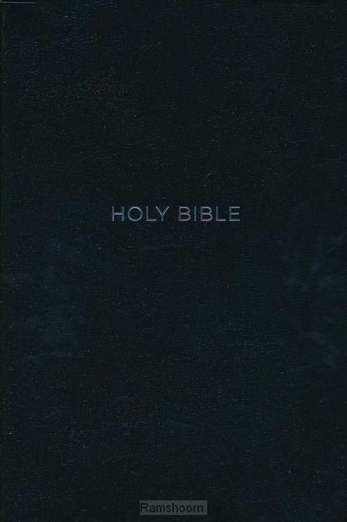 NKJV gp ref bible ind black leathertouch