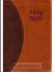 KJVA ? LP Text Bible, Brown Tutone