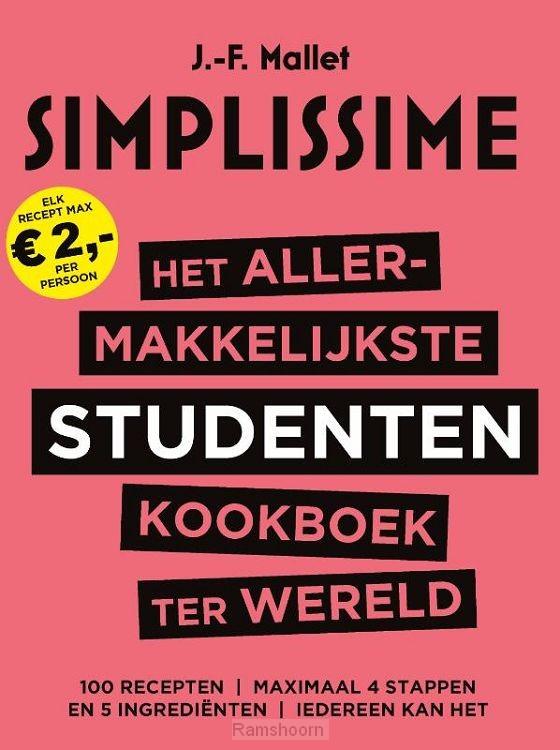 Het allermakkelijkste studentenkookboek