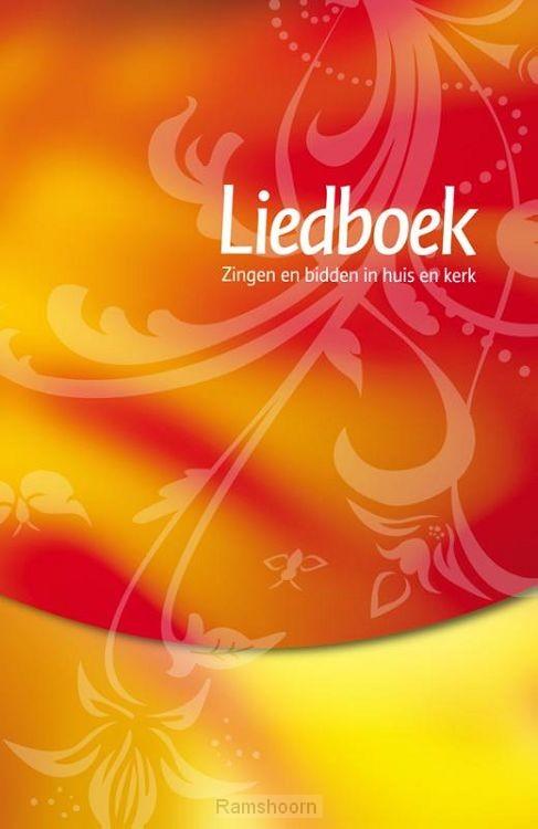 Liedboek -rood/geel / druk 1