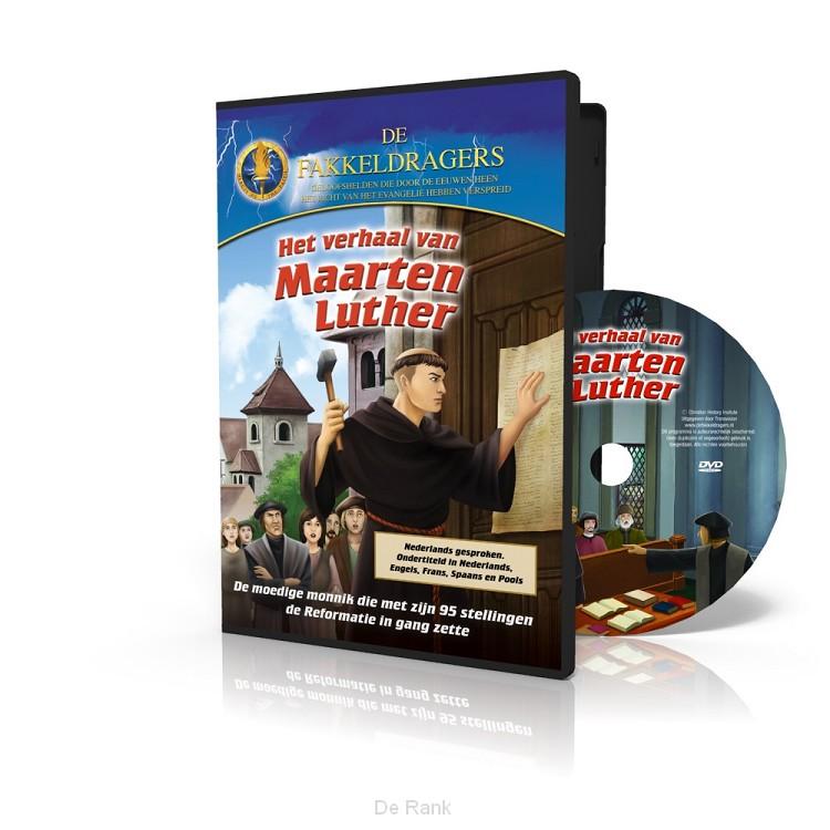WAARGEBEURD VERHAAL + GRATIS DVD LUTHER