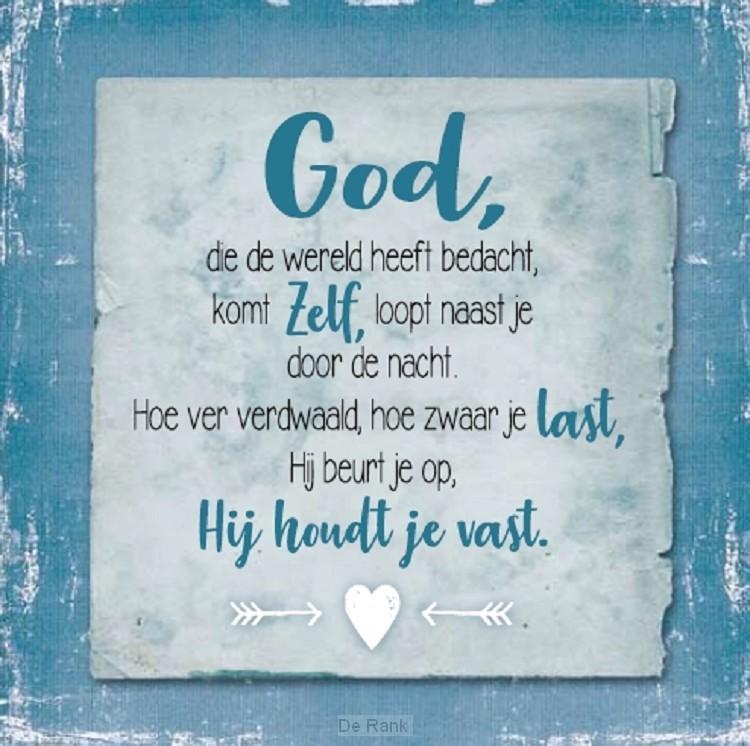 God die de wereld heeft bedacht