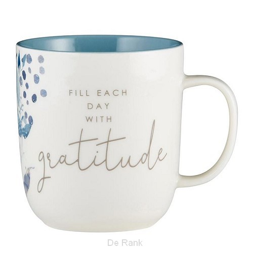 Mug Fill each day with gratitude