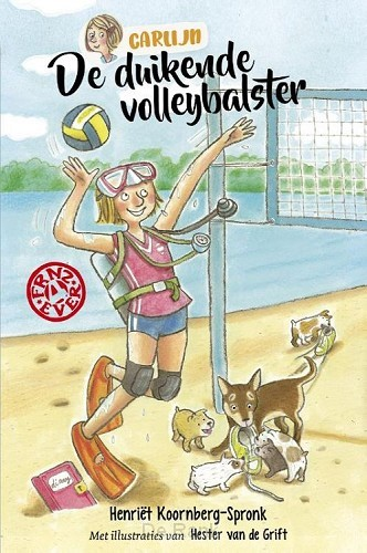 Duikende volleybalster