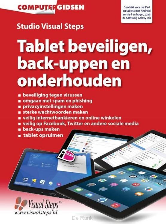 Tablet beveiligen, back-uppen en onderhouden