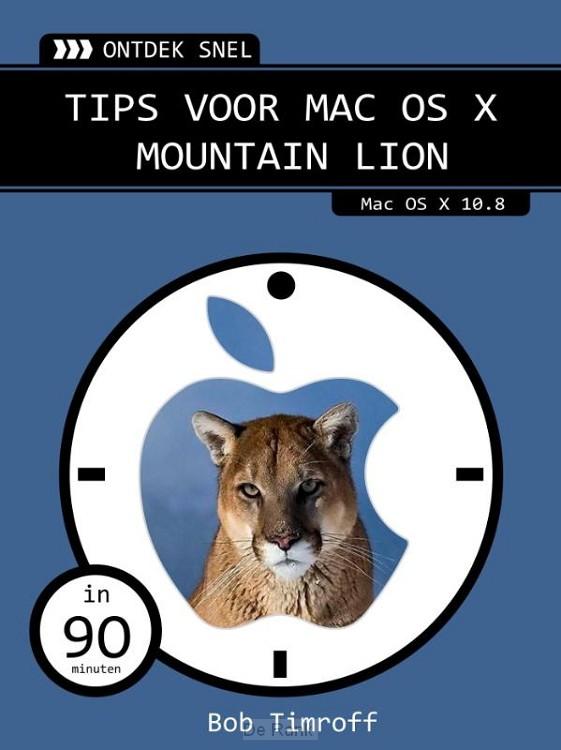 Tips voor Mac OS X Mountain Lion