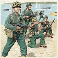 US-Marineinfanterie, WWII