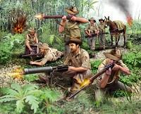 ANZAC Infantery WWII 1:76