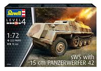 15cm Panzerwerfer 42 auf sWS [1:72]
