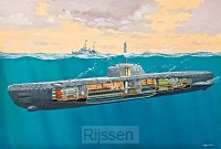U-Boot Typ XXI U 2540 en Interieur 1/144