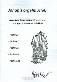 Vereenvoudigde psalmzettingen 1 voor org
