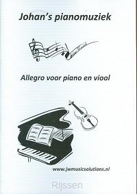 Allegro voor piano en viool