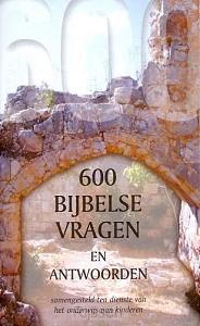 600 Zeshonderd Bijbelse vragen