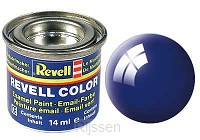 Ultramarine Blauw Glanzend