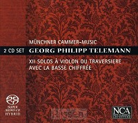 XII solos a violon ou traversiere 2CD