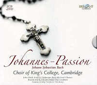 2CD/DVD Johannes-Passion BWV 245 1725 vs