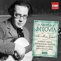 Andres Segovia The master guitarist 3CD