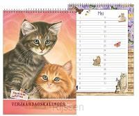 Verjaardagskalender Franciens katten