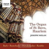 Bach, Buxtehude, Mendelssohn, Reubke