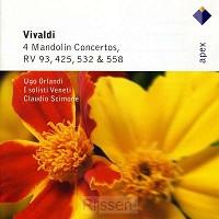 4 Mandolin Concertos RV93, 425, 532, 558