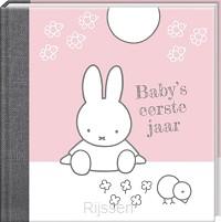 Nijntje Baby's 1e jaar roze herziene edi