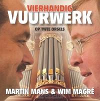 Vierhandig vuurwerk op twee orgels