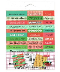 Biblejournaling stickers 3vel