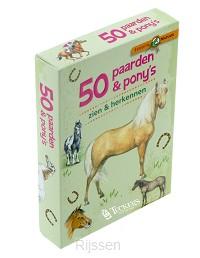 50 paarden & pony's herkennen