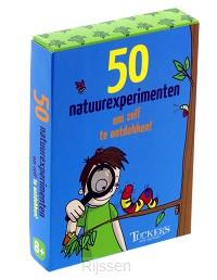 50 natuurexperimenten om zelf te ontdekk