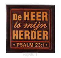 Wandbord psalm 20x20cm