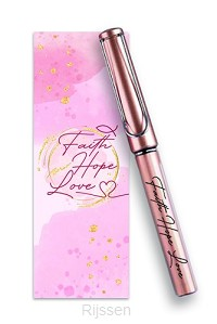 Pen/Bookmark Faith Hope Love