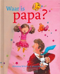 Waar is papa miniprentenboek