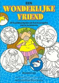 Wonderlijke vriend - kleurboek